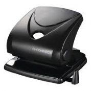 Q-Connect Standard Duty Hole Punch Black - 30 Sheet